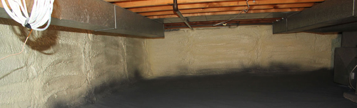 crawl space insulation in Louisana